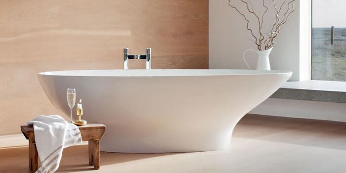 Установка и подключение ванны