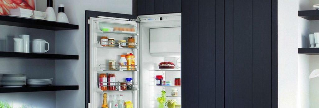 Замена встроенного холодильника